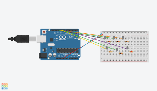 Connect Each Jumper Wire on to the Breadboard
