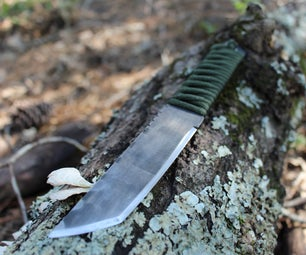 Knife Out of a Sawzall Blade (no HT)