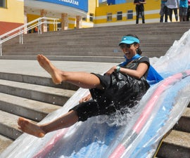 DIY water slide