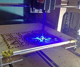 3D Printer Laser Modification