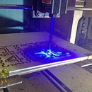 3D Printer Laser Modification