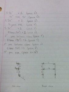 Step 3.4.2: PVC Tube Dimensions