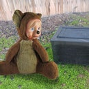 Bear-Proof Ice Chest From Garbage