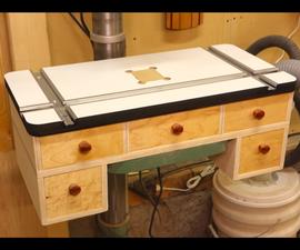 Make It - Drill Press Table