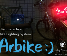 [Arduino] Arbike - a Interactive Bike Lighting System