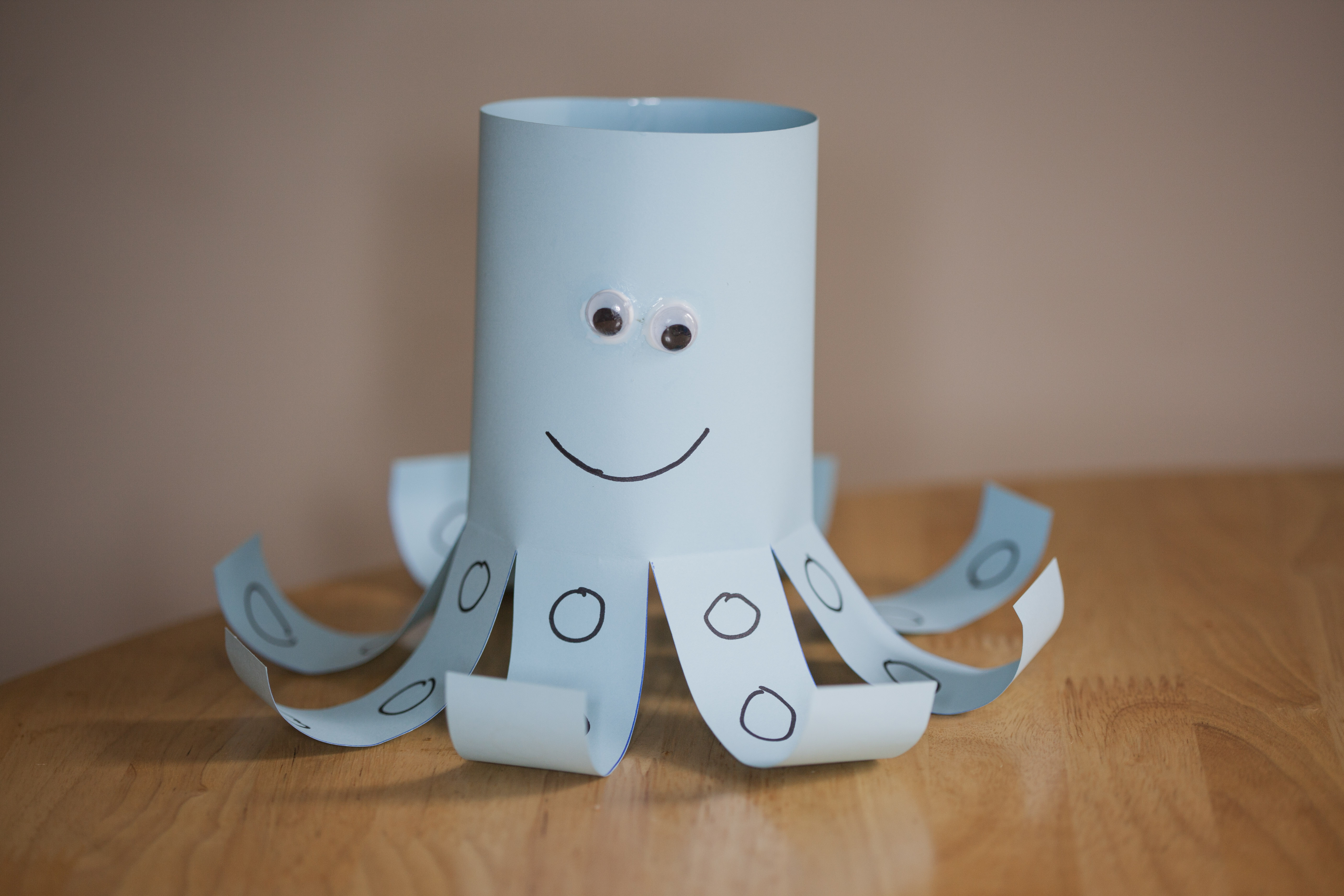 Picture of Paper Octopus (Kids Craft)