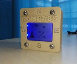 Arduino 3D Printed Compass