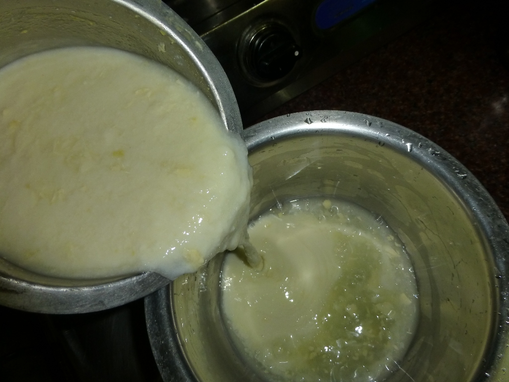 Picture of Making Butter From Curd