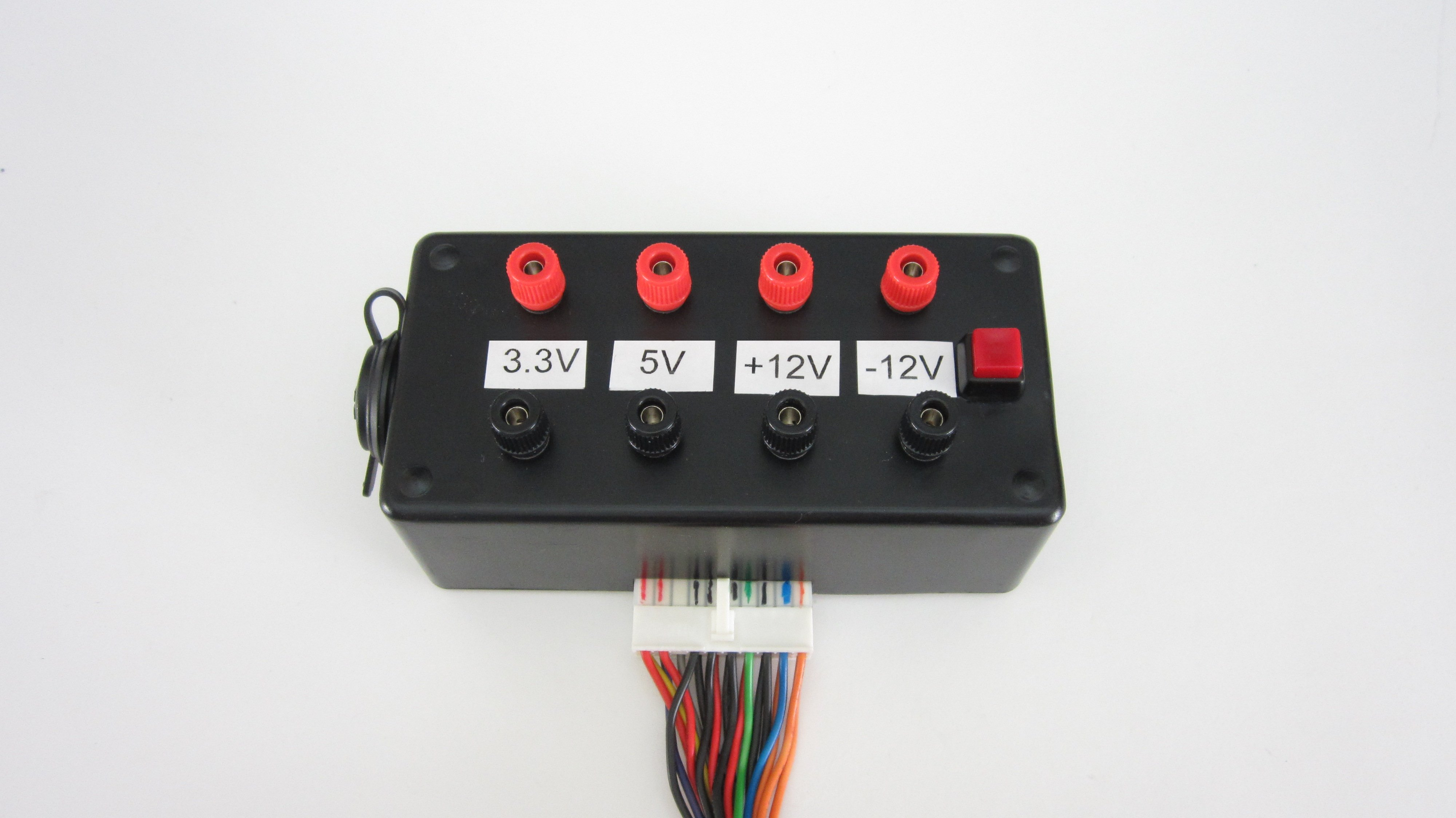 Picture of Computer Power Supply to Bench Power Supply Adapter