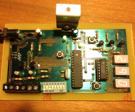 AVR Chronograph from concept to PCB