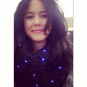 Light Your Scarf Up With LED Fairy Wire!
