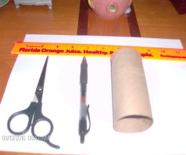 How to make a seed starter from a paper roll