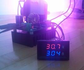 100W LED grow light setup
