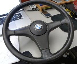 Reupholstering a Steering Wheel