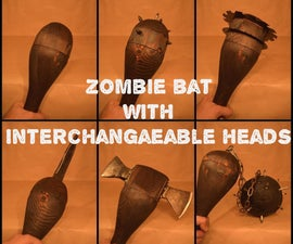 Zombie Bat With Interchangeable Heads
