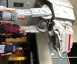 Make a Large-Scale Star Wars AT-AT Walker