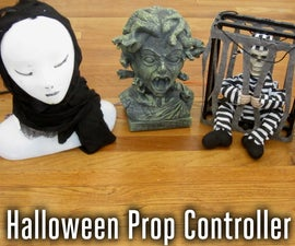 Control Your Halloween Decorations With Arduino