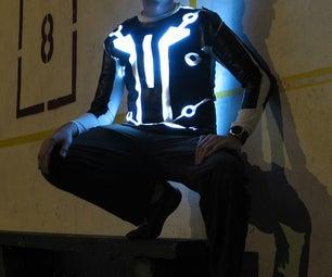 LED-lit Tron v2.0 suit