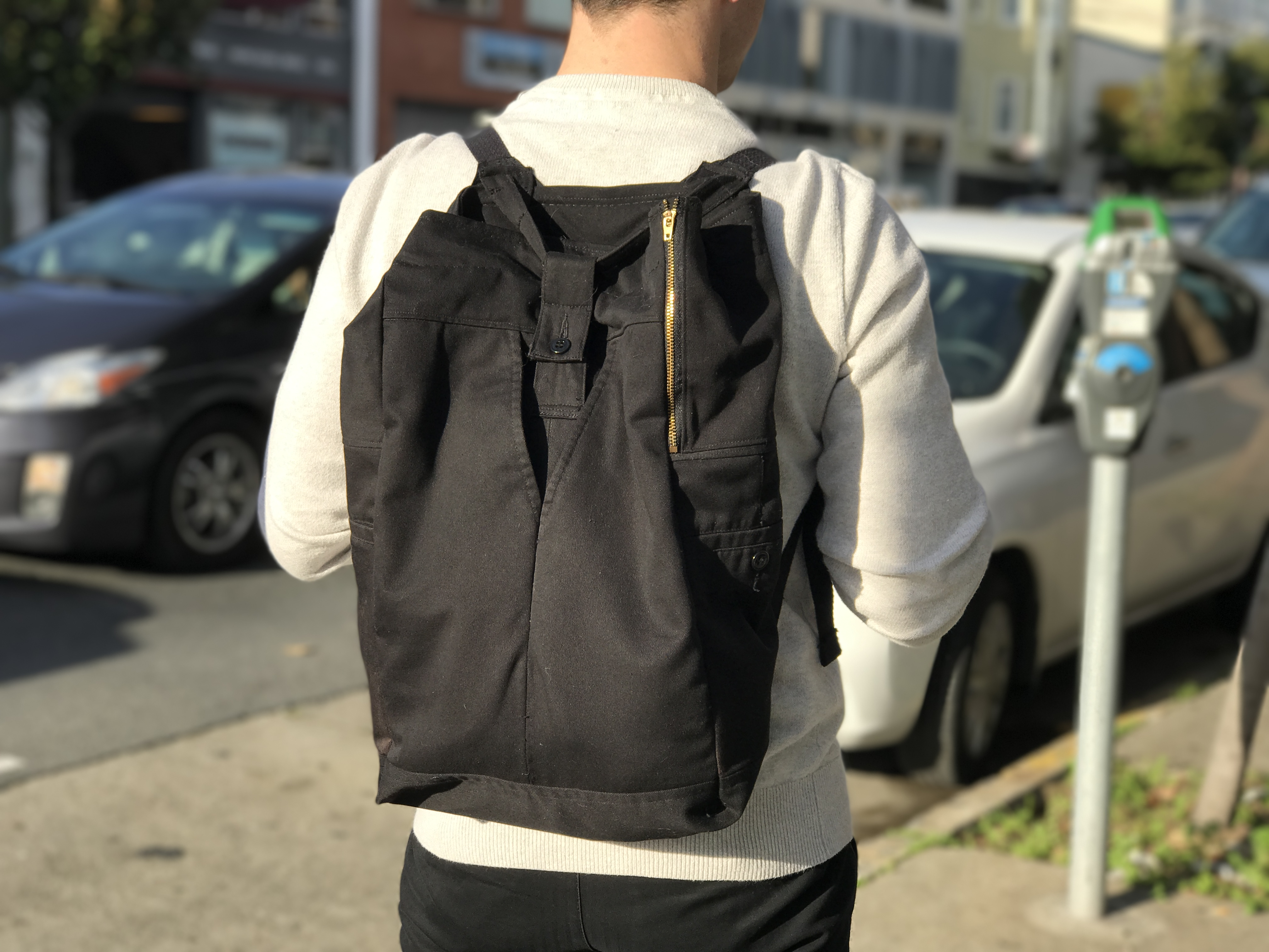 Picture of PANTSPACK: Make a Backpack Out of Old Pants