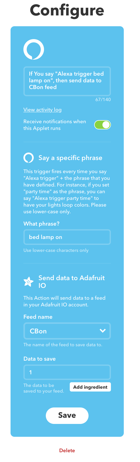 Picture of IFTTT
