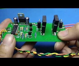 Home Make 24V 30 Amperes DC Motor Speed Controler With Schematic, PCB,Gerber Files