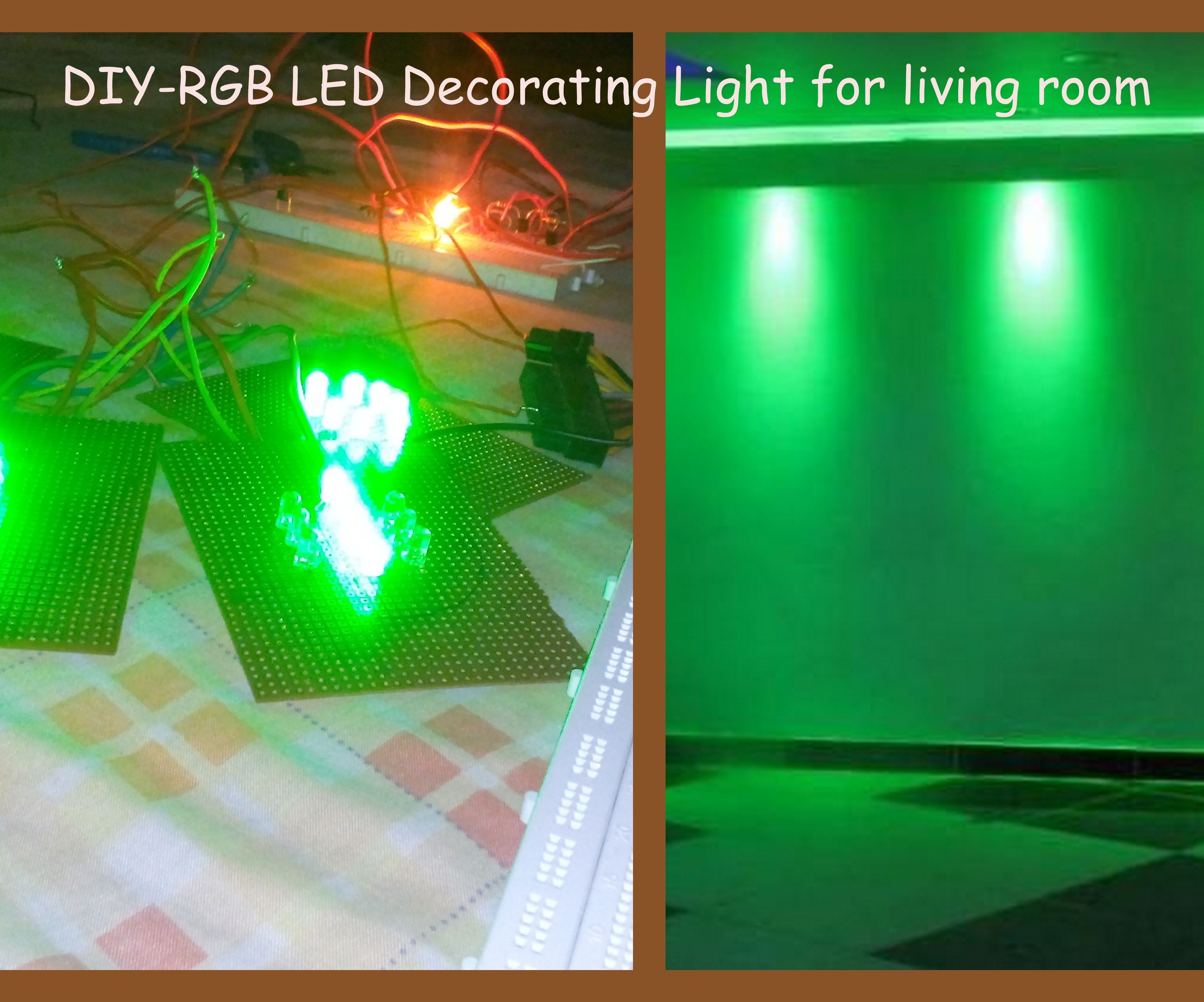Make Your Own Rgb Led Decoration Light Diy 7 Steps With