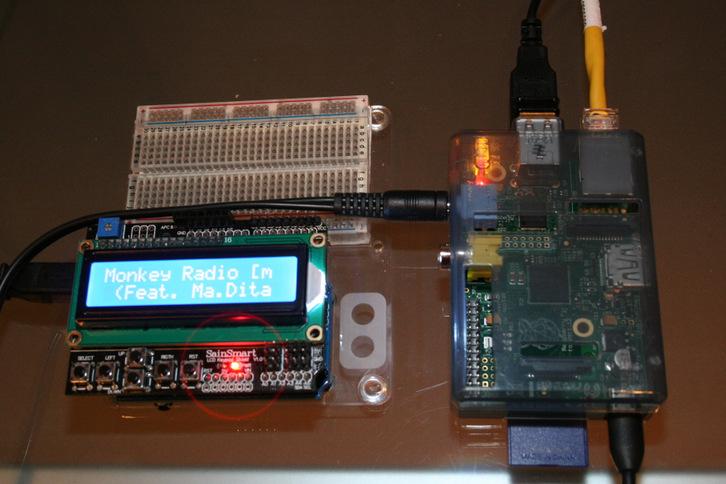 Picture of Arduino / Raspberry Pi Internet Radio