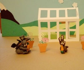 Animation With DIY Paper Props