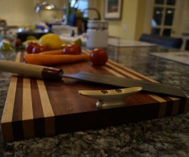 Easy and beautiful cutting/cheese board