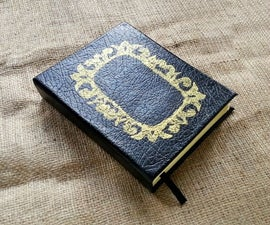 DIY Customized Book Journal