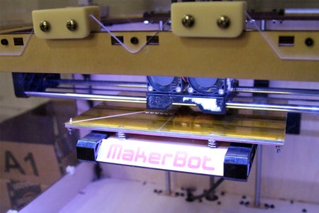 3D Print With MakerBot