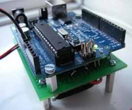 The Arduino AA Undershield