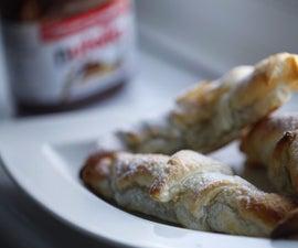 Nutella Croissants