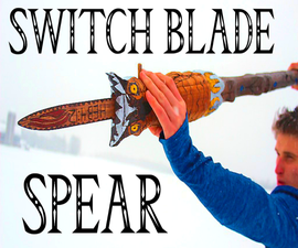How to Make a Fake Spring-Blade Walking Stick