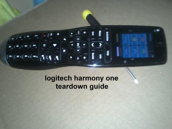 Logitech Harmony One Teardown