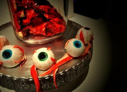 How to Make a Red Velvet Heart & Eyeballs Cake