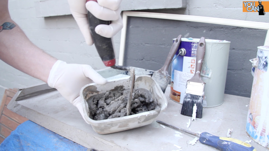 Set Pipe Into Mortar/Concrete