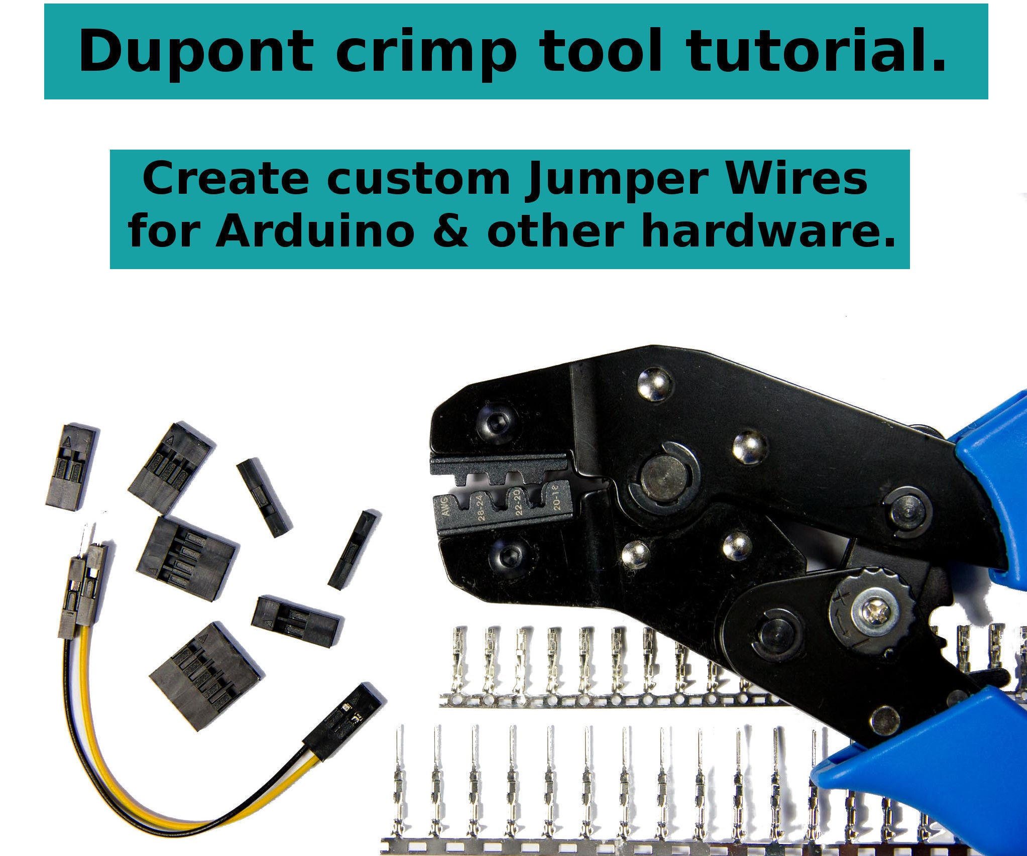 Dupont Crimp Tool Tutorial 11 Steps Usb To Db9 Male Cable Connections Diagram Free Download Wiring