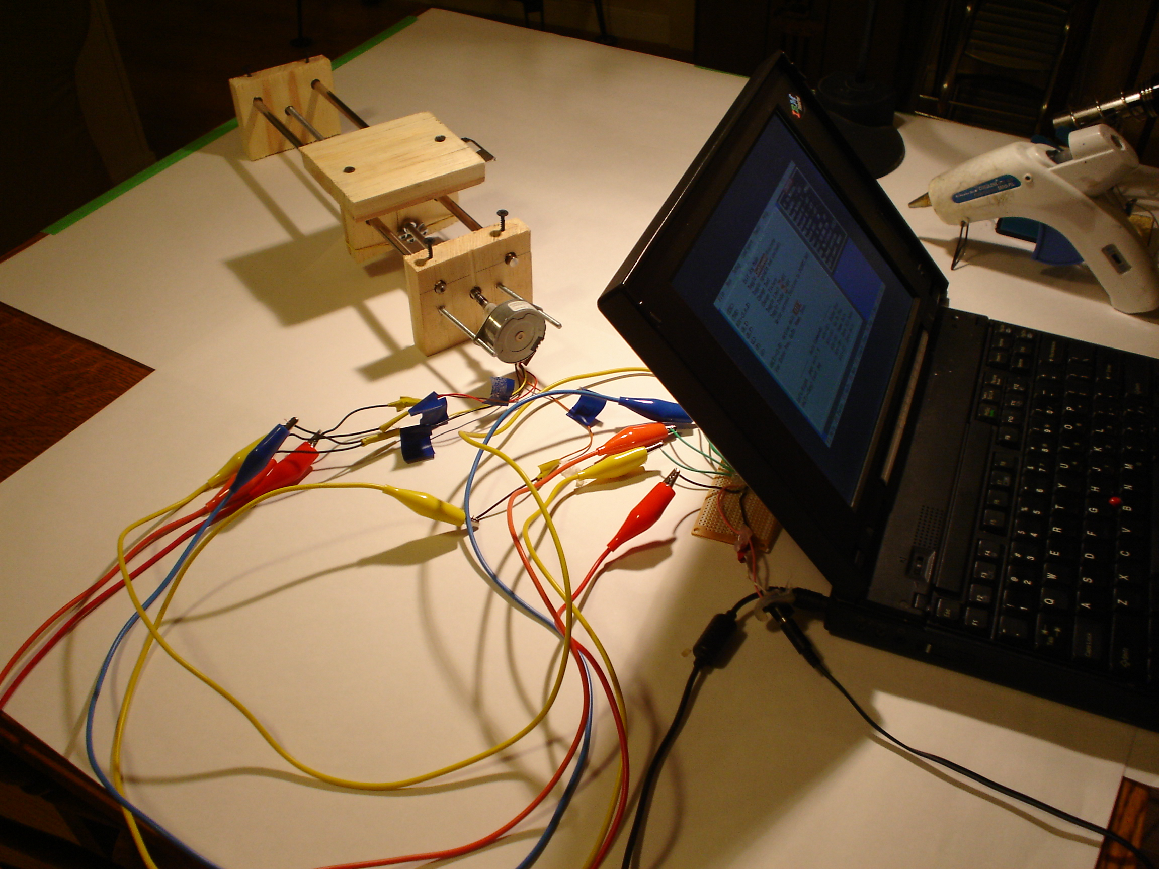 Picture of Conect and Test Motor