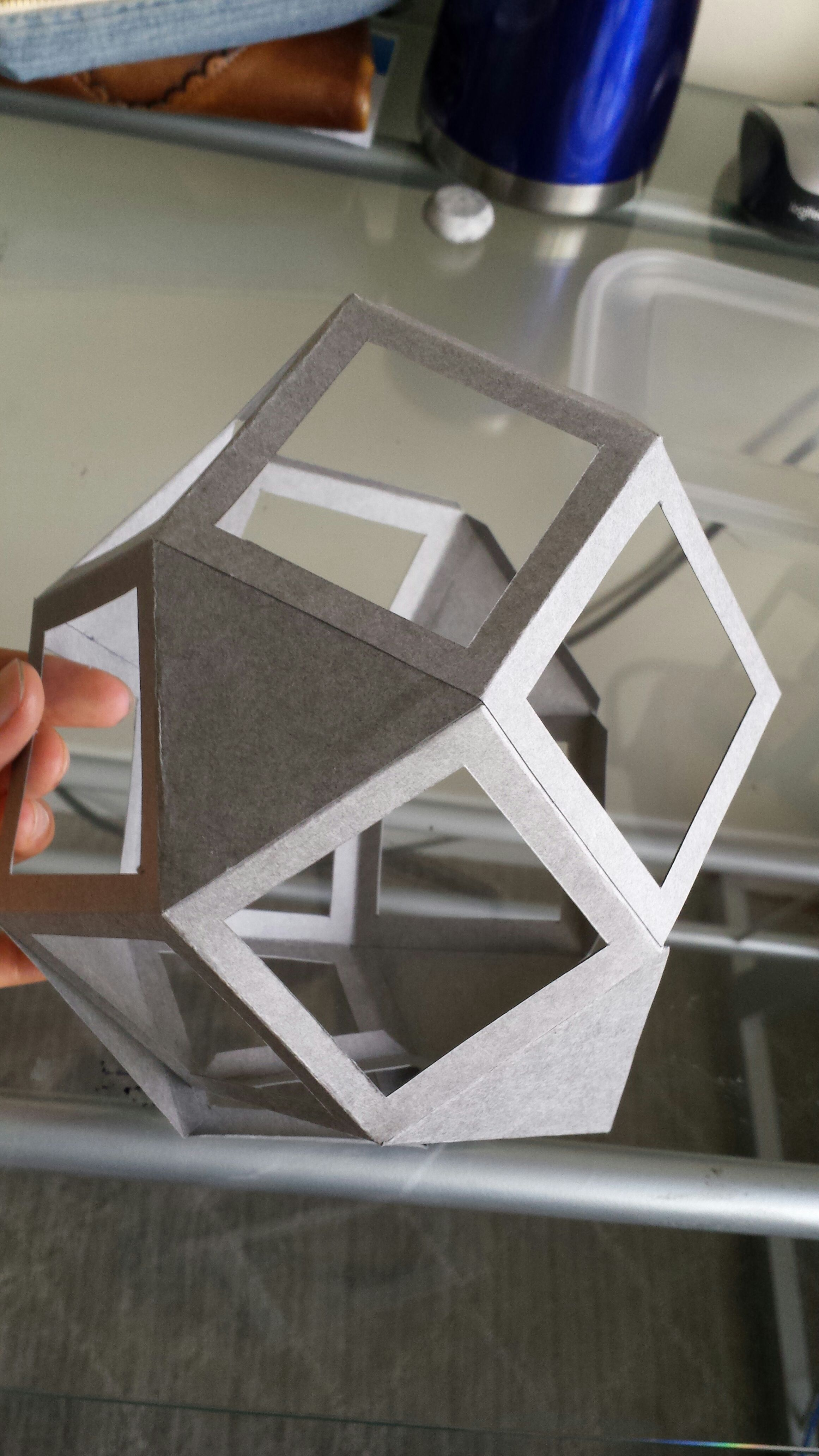 Picture of Polygonal Skeleton: Folding and Gluing
