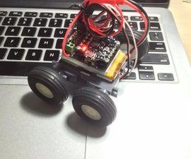 Arduino based 4WD Bluetooth Microbot
