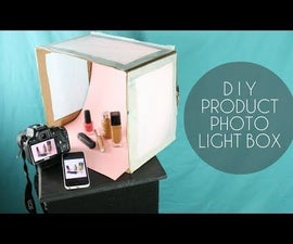 DIY Product Photography Light Box