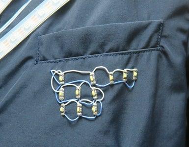 LED Sequin Emblem
