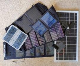 Building a 12V solar power battery pack