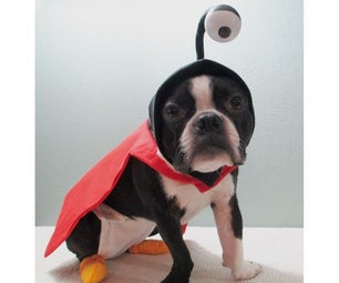Nibbler From Futurama Dog Costume