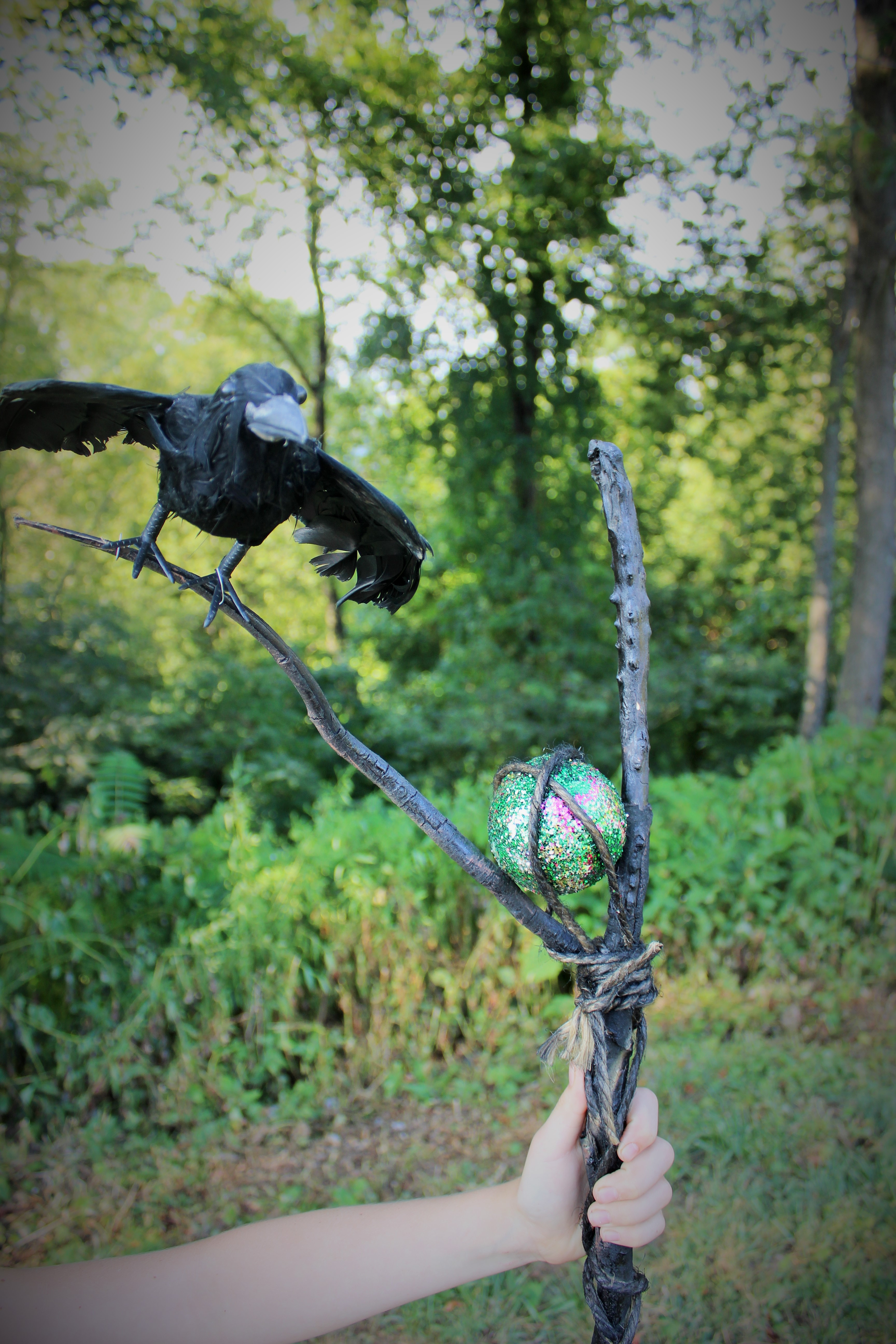 Maleficent Staff 5 Steps With Pictures