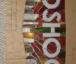 Bioshock Stained Glass Logo