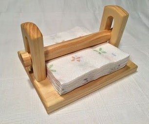Make a Napkin Holder With Hand Tools