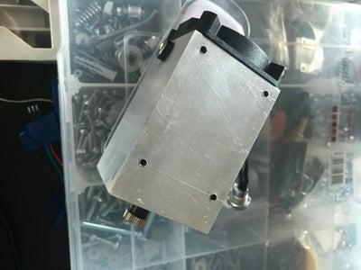 Fix DC-DC Converter on Laser Body