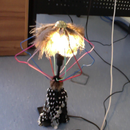 How to Make an Up-cycled Lamp